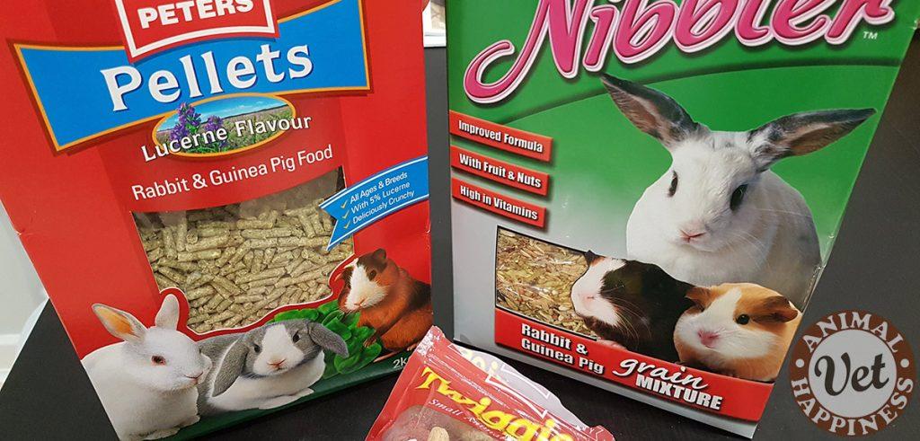 Commercial rabbit food